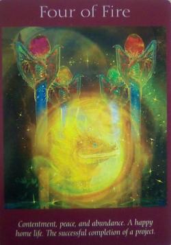 火の4 満足と平和と豊かさ‖無料エンジェルメッセージ